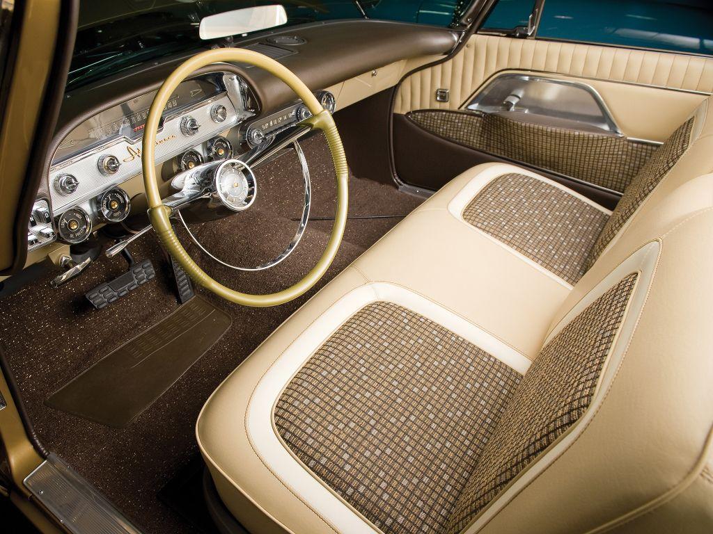 Interior 1957 Desoto Adventurer Convertible Classic Cars