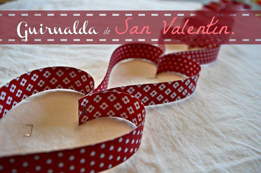 Manualidades infantiles para San Valentin | Aprender manualidades es facilisimo.com