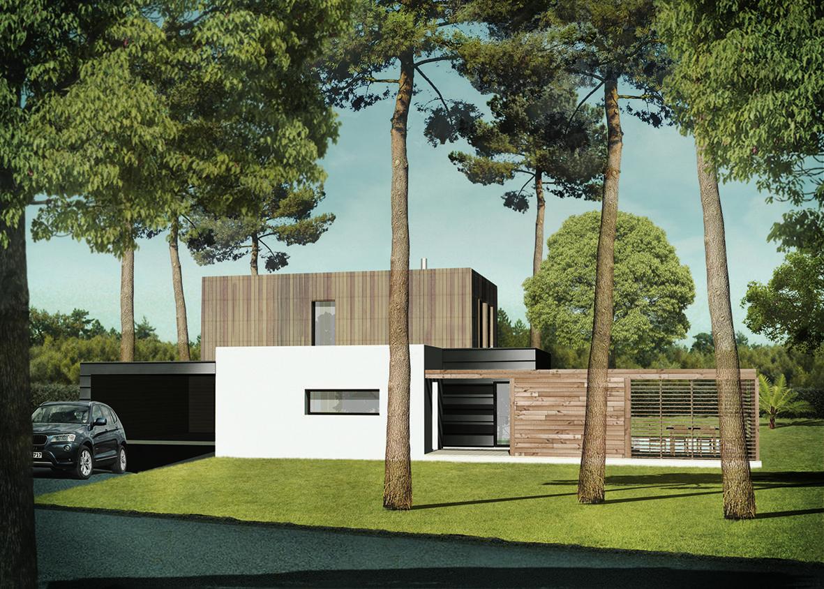 Construction maison landes for Constructeur maison landes