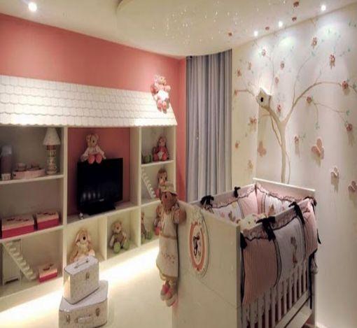Dormitorio de bebe cuarto de bebe casa amazonas bba for Decoracion murales dormitorio