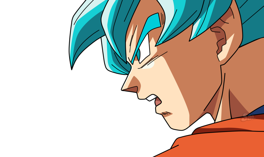 Goku Ssj Blue By Saodvd Goku Super Saiyan Blue Digital Drawing