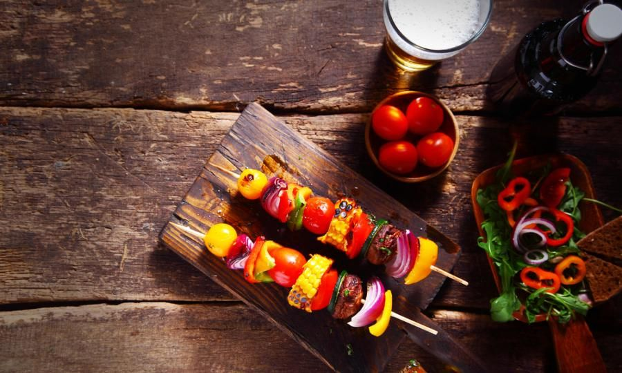 Beach Blanket Pinchos Easy Pinchos For Your Summer Party The