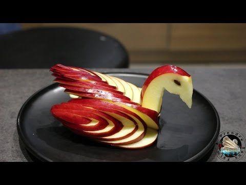 Comment faire une fleur en courgette et tomate cerise hd youtube d co pinterest cygne - Comment couper une courgette ...