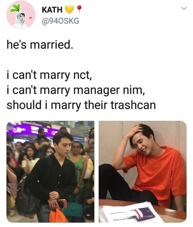 Well Shit Ill Just Marry Their Succulents Ig Nct Nct Life Kpop Memes