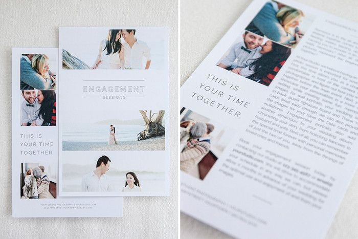 Laguna Marketing Set wedding photo branding Marketing and - wedding brochure template