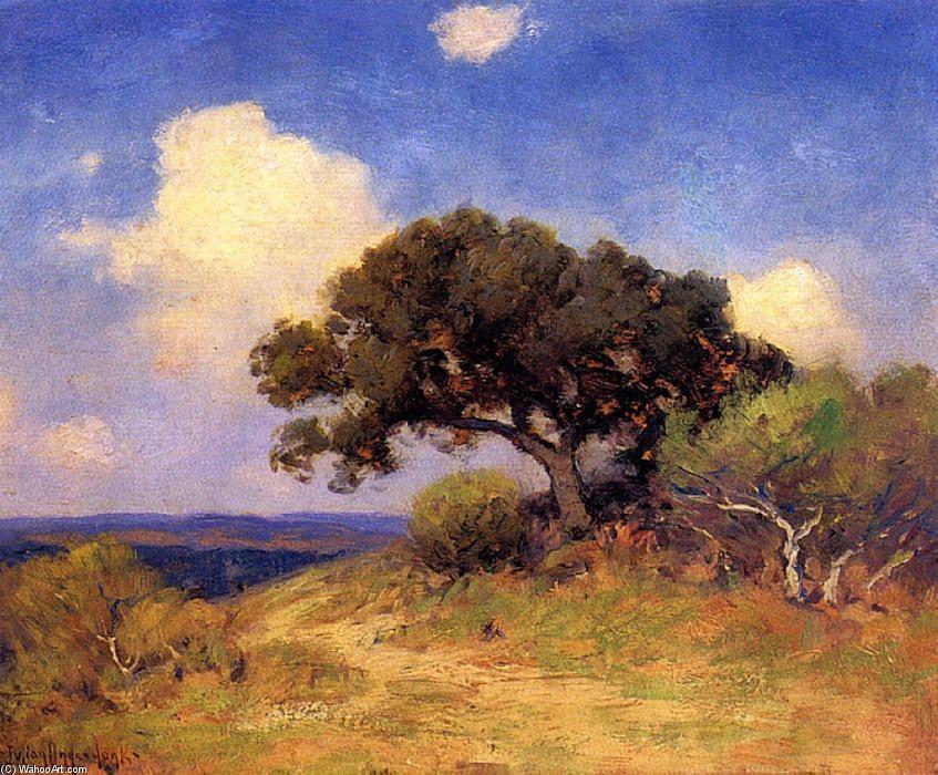 Vieux Live Oak, 1910 de Robert Julian Onderdonk (1882-1922, United States)