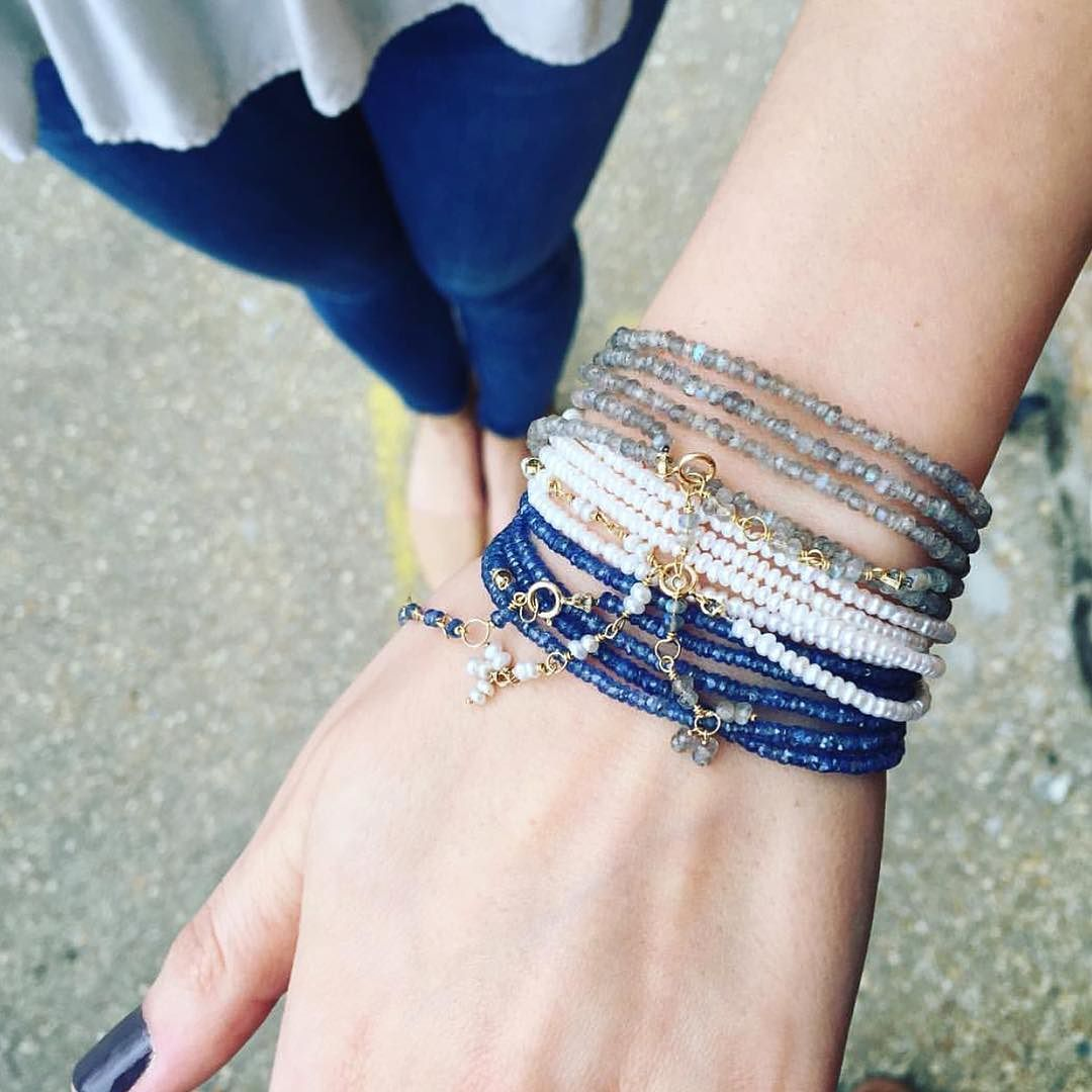 Loving this Wrap combo by our friends at @susancampbelljewelry #preciouseveryday
