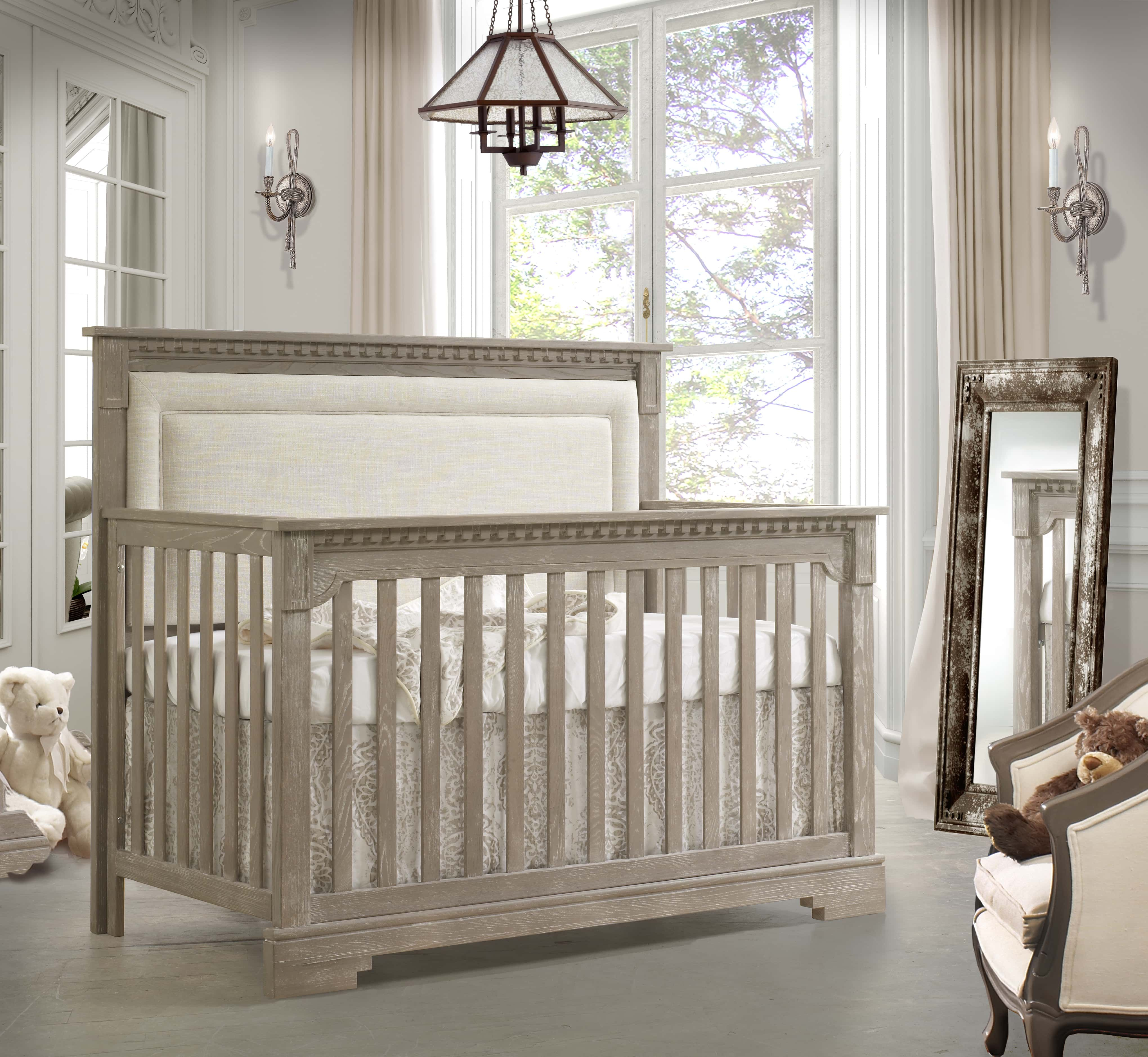 Inspired By Mediterranean Architecture And Epic Poems Our Oak Ithaca Collection Creates A Picturesq Luxury Baby Crib Bumperless Crib Bedding Baby Bedding Sets