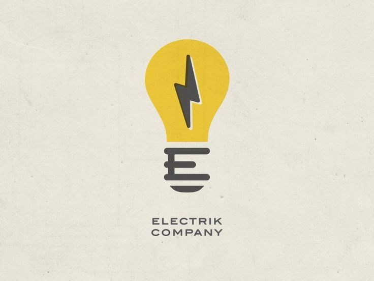Logo Ideas For Electrical Business Beautiful Lightbulb And Bolt