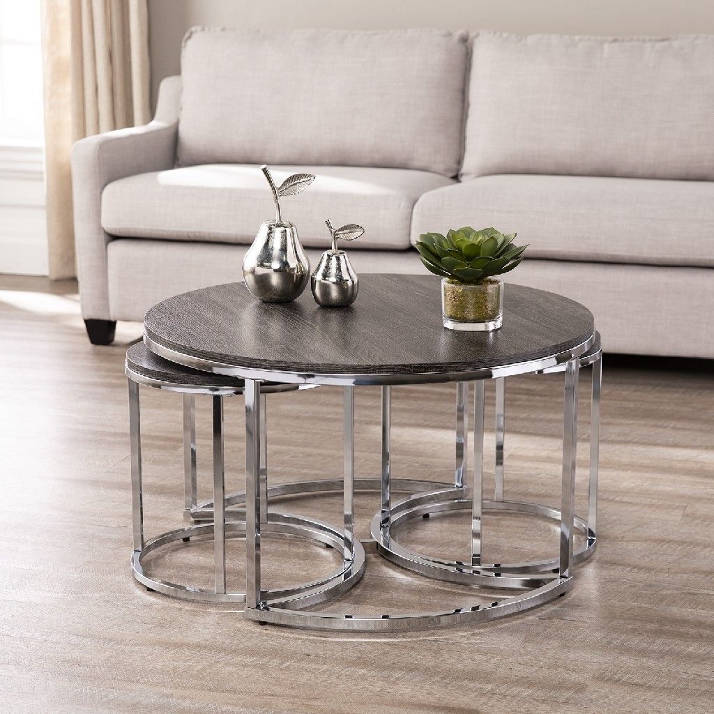 Lachlan Round Nesting Coffee Tables 3pc Set Southern Enterprises Ck5880 Round Nesting Coffee Tables Coffee Table Nesting Coffee Tables [ 1024 x 1024 Pixel ]