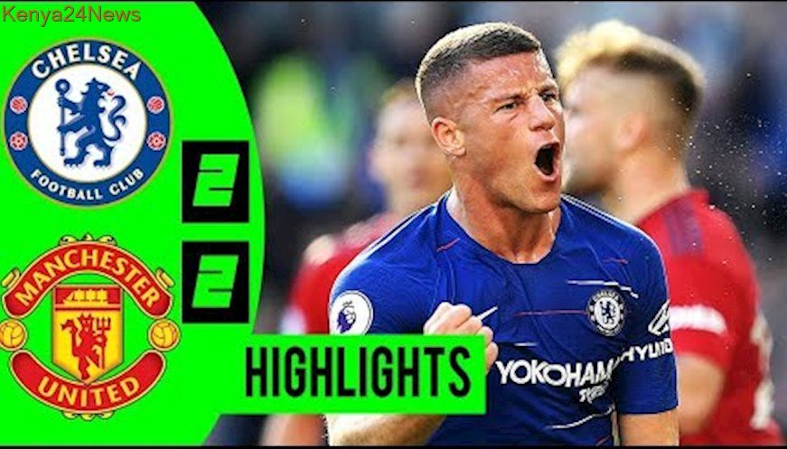 Chelsea Vs Manchester United 2 2 Highlights 2018 Manchester United The Unit Chelsea