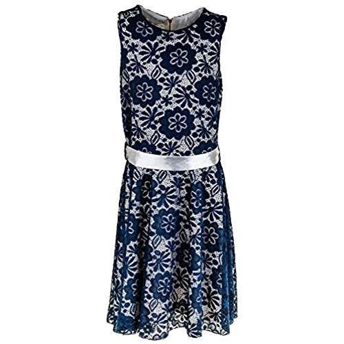 Mädchen Kleid mit Spitze in 6 Farben   NELLY BRAUT   Pinterest