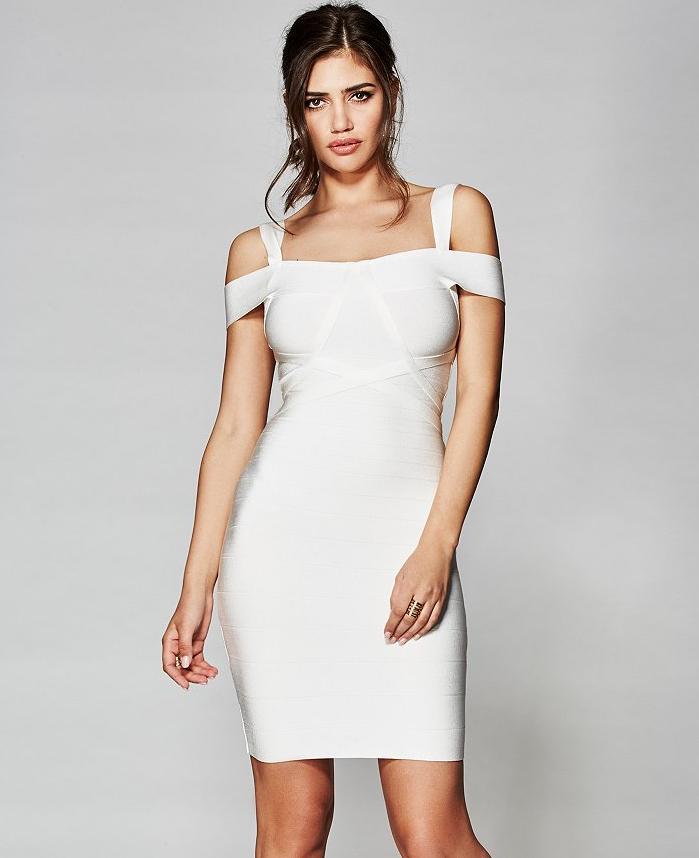 Ayala Bandage Dress at Guess