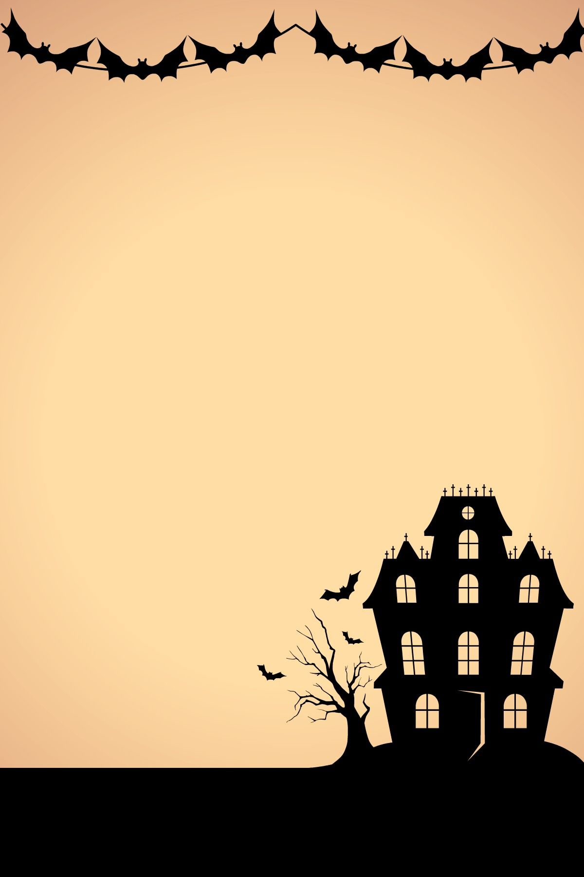 fondo halloween para carta/invitación a fiesta | Papel Scrapbook ...