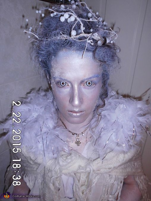 Athina I decided to become the Snow Queenbut I wanted it as much realistic as possible! I imagined a creature out of this word among snowy mountain!  sc 1 st  Pinterest & Snow Queen - Halloween Costume Contest at Costume-Works.com ...