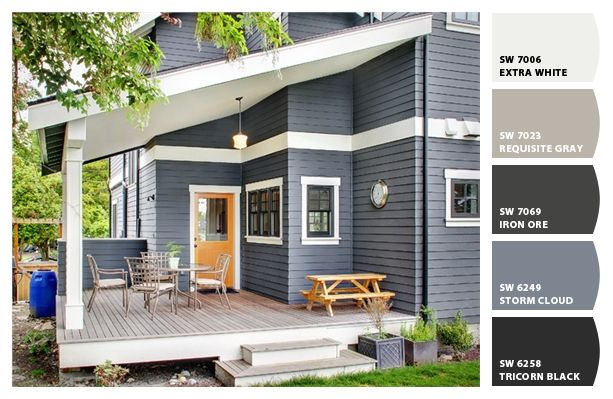 Paint colors from chip it by sherwin williams chip it - Gray clouds sherwin williams exterior ...