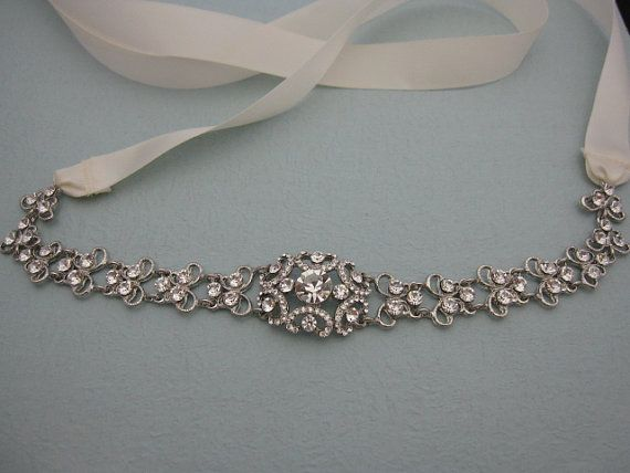 Rhinestone Bridal Belt Bridal Sash Wedding Belts And
