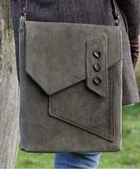 Morston Quay Messenger Bag Pattern in a downloadable format - a ...
