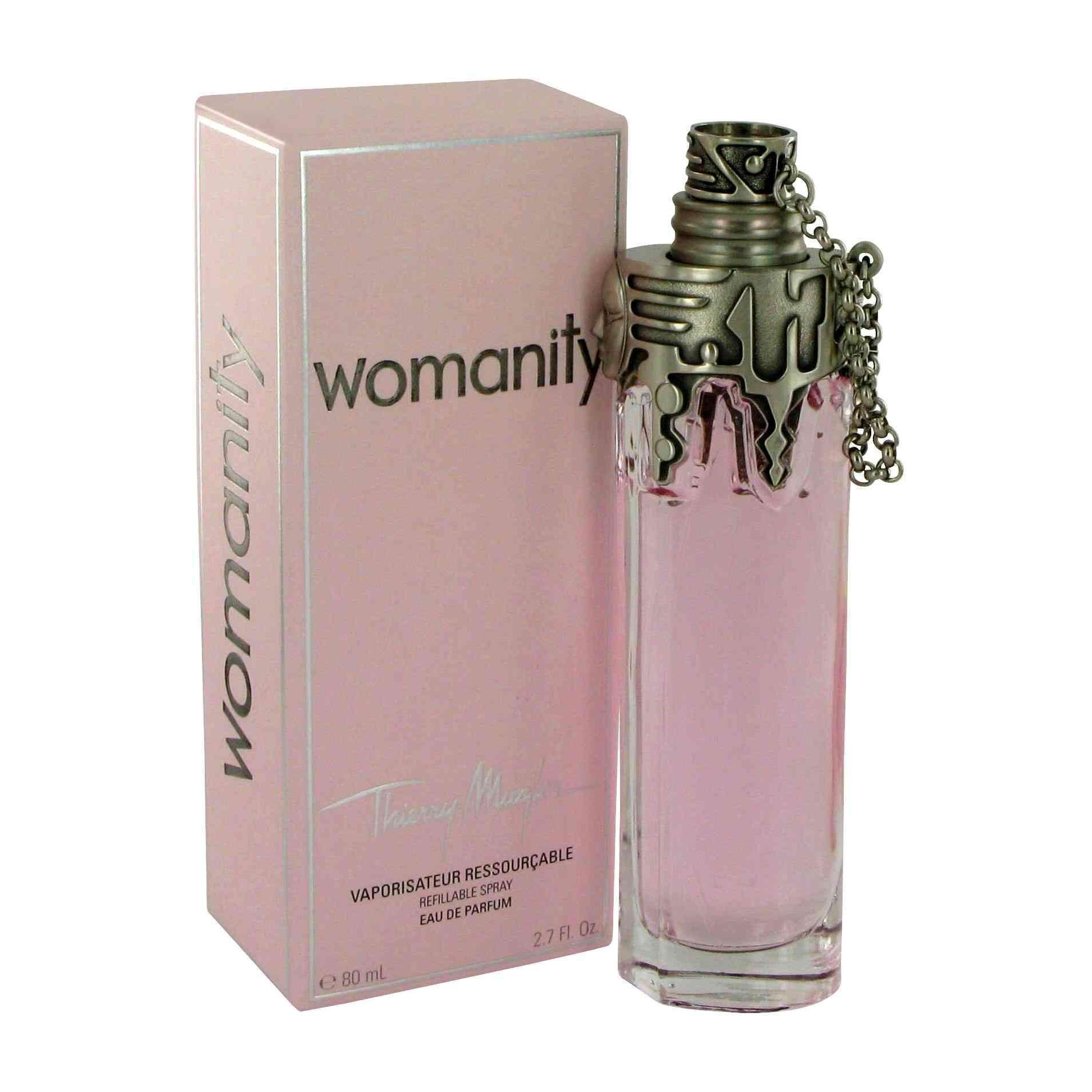 Thierry Mugler Womanity Womens 27 Ounce Eau De Parfum Spray Black Original Antonio Banderas Radiant Seduction In Man Edt 100ml Caviar