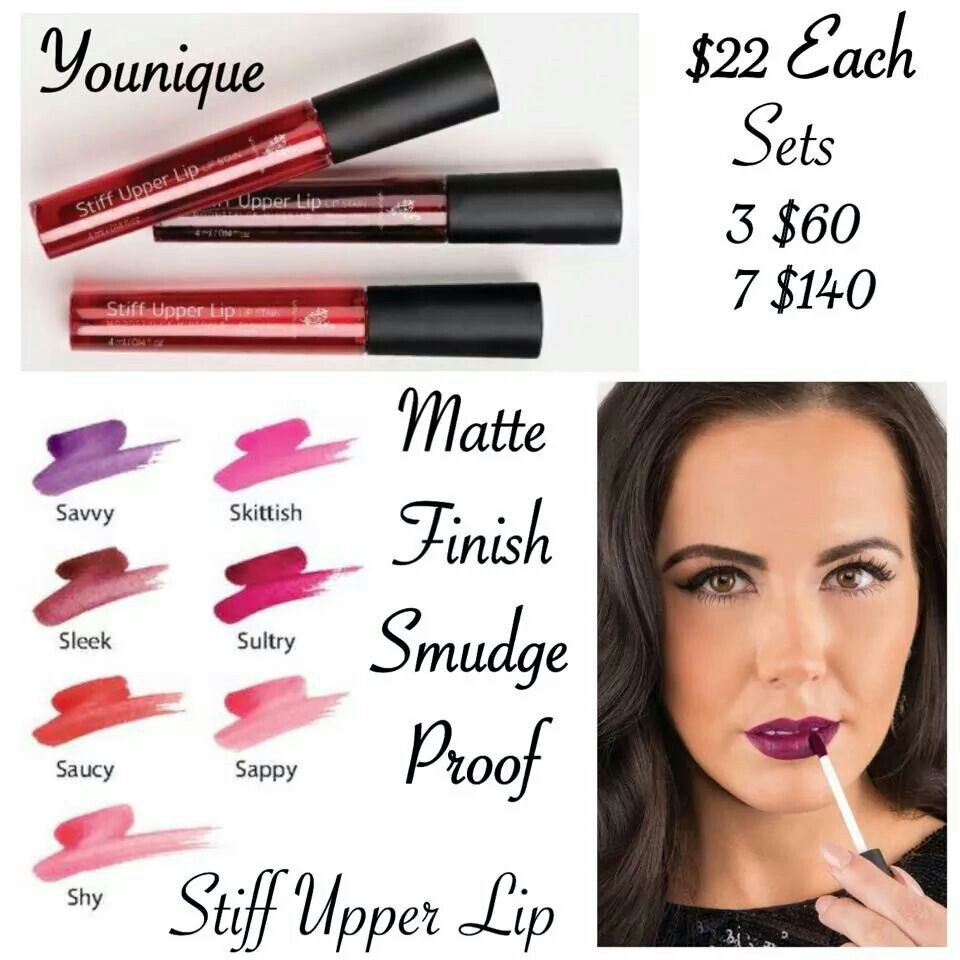 Kiss Proof Color Smudge Proof Lips New Younique