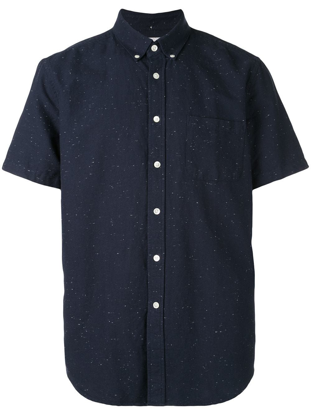 Essentials Slim-Fit Short-Sleeve Print Shirt Uomo