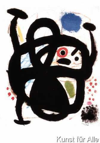 Joan Miró - Woman (1969)