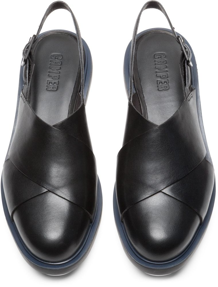 58e84b01e86 Camper Marta Black Formal Shoes Women K200610-001