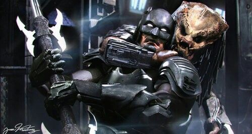 Photo of Batman vs. Predator Artist: Juan Hugo Martinez