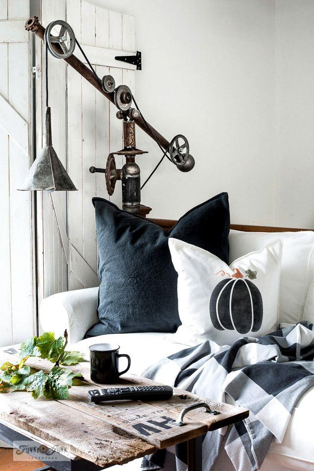 Cutest pumpkin pillows and fall placemats – Funky Junk Interiors