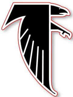 Atlanta Falcons Nfl Logo Wall Window Sticker Decal Atlanta Falcons Wallpaper Atlanta Falcons Atlanta Falcons Logo