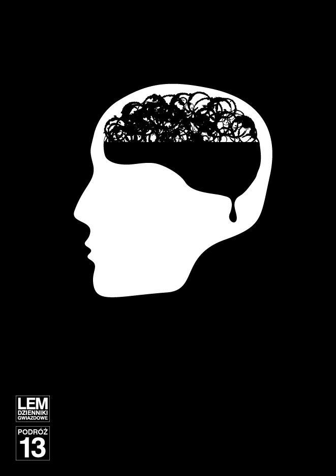 Stanislaw Lem book poster