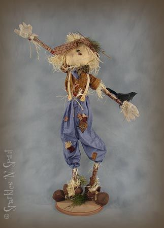 """Charles"" Fun Scarecrow"