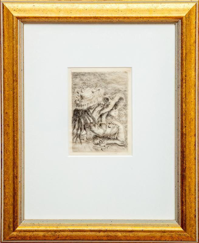Pierre-Auguste Renoir (1841-1919): Le Chapeau Épinglé -