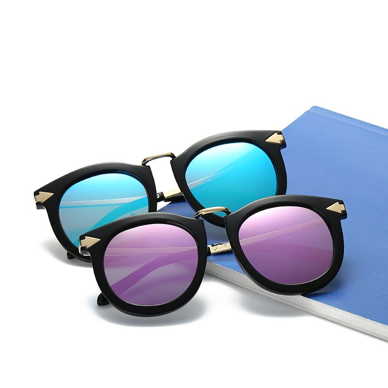 6d5d56df836 Click to Buy    Vintage Round Sunglasses Polarized HD Lens Women and ...