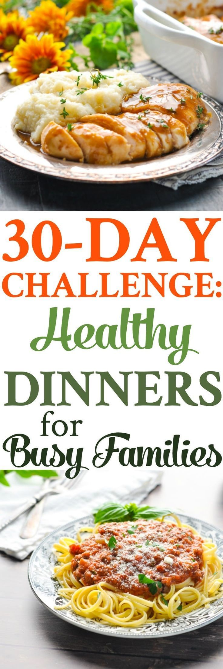 #30tagechallenge #tagechallenge #dinnerideen #gesunde30-Tage-Challenge: Gesunde Dinner-Ideen! -