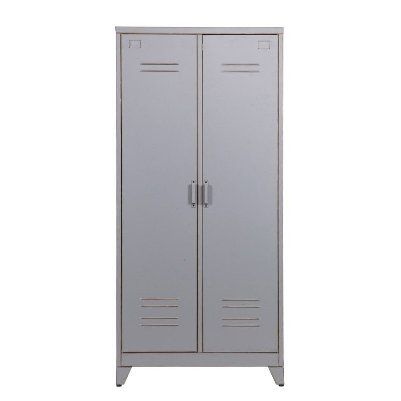 Vintage Style Metal Cabinets Come In Three Diffe Sizes Dove Grey Finish Inside And Out These Locker Have A Fabulous Look