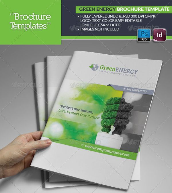 Free Business Brochure Photoshop Psd Templates  Business