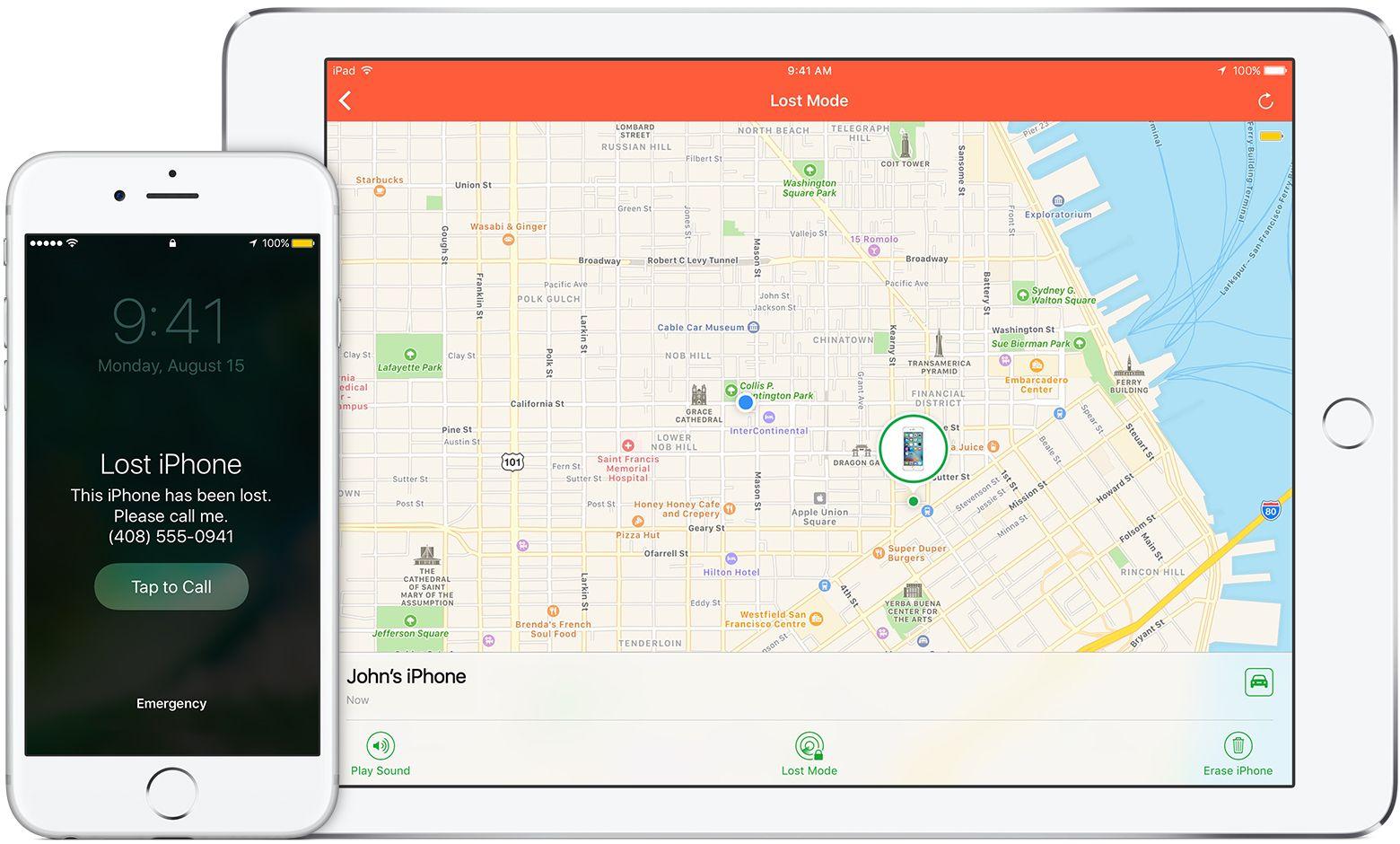 Si pierdes o te roban el iPhone, el iPad o el iPodtouch - Soporte técnico de Apple