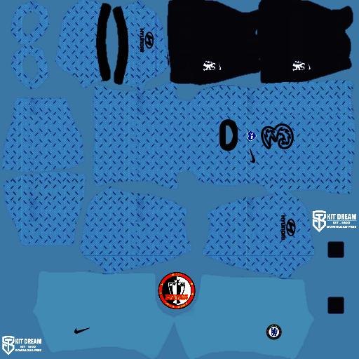 Kits Chelsea 2021 Dream League Soccer 2020 in 2020
