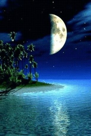 View Android Live Wallpaper View Bigger Island Moon Live Wallpaper For Android Screenshot Nature Gif Beautiful Moon Live Wallpapers