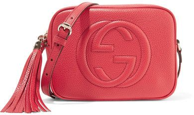 07c72512e584 Gucci Soho Disco Textured-leather Shoulder Bag - one size - ShopStyle. Find  this Pin and more ...