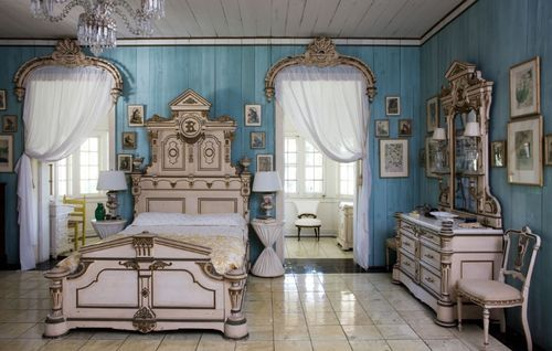 rather fancy the white antique bedroom, but not so serious.