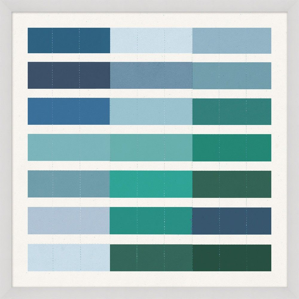 Shades of Blue 3 - Abstract - Our Product