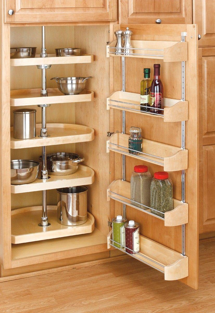 Rev A Shelf 20 Door Storage Tray W Screw In Clips One Tray Kitchen Cabinet Storage Small Space Kitchen Apartment Kitchen