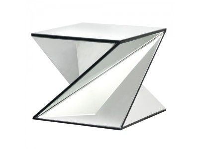 Peachy This Z Shaped Glass Coffee Table Can Only Be Described As Home Interior And Landscaping Ferensignezvosmurscom