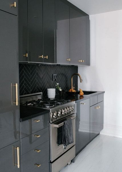 Ikea Elevated Kitchen Design Small Contemporary Kitchen