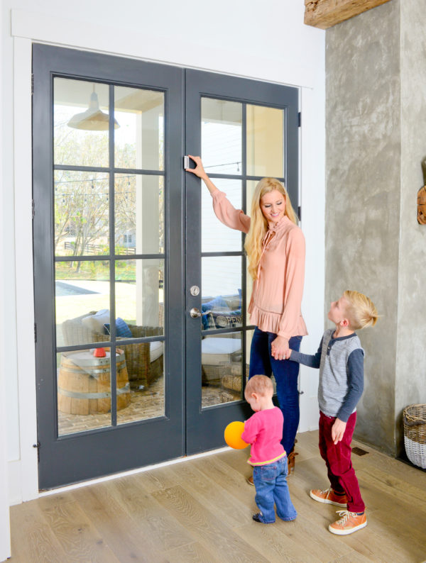 The Door Guardian Childproof Products Home Safety Cardinal Gates In 2020 Home Safety Wood Doors Interior Doors Interior