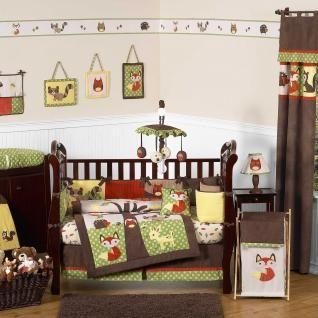 Forest Friends Bedding By Sweet Jojo Designs   Baby Crib Bedding