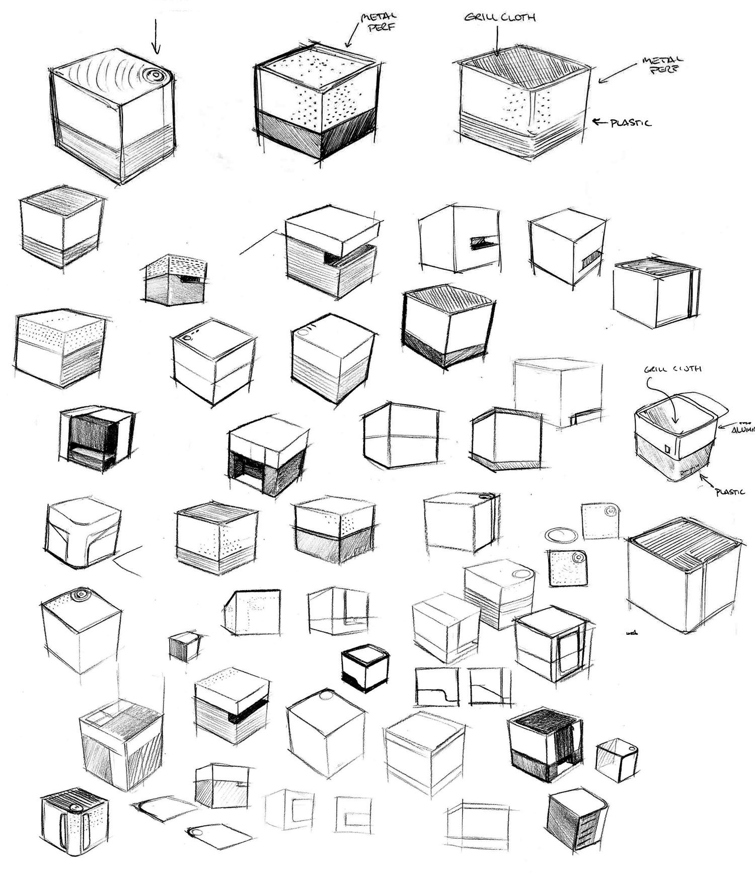 Cube Sketches 02 With Images