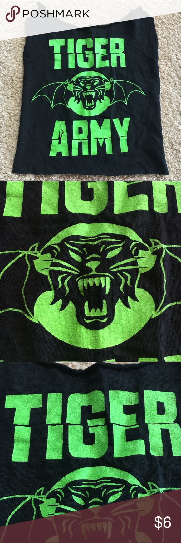 Patch, Psychobilly Tiger Army Neon Print (With images ...